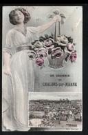 51, Un Souvenir De Chalons Sur Marne - Châlons-sur-Marne