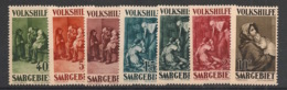 Saar - 1930 - N°Yv. 132 à 138 - Oeuvres Populaires - Série Complète - Neuf * / MH VF - 1920-35 League Of Nations