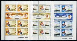 Kiribati Mi# 371-6  KLB Postfrisch MNH - Ships Lady Diana  Royal Wedding - Kiribati (1979-...)