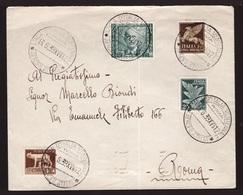 Regno, Busta Del 1939 Con Annulli Speciali Per Il Ventennale Ala D'Italia       -CL58 - 1900-44 Victor Emmanuel III.
