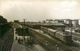 280220 TRANSPORT TRAIN CHEMIN DE FER - PHOTO BREHERET Circa 1950 - ITALIE BOLOGNE Gare Train - Bologna