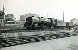 280220 TRANSPORT TRAIN CHEMIN DE FER - PHOTO BREHERETcirca 1950 - 49 ANGERS SAINT LAUD Gare Train - Angers