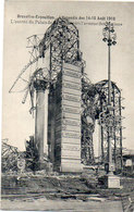 BRUXELLES - EXPOSITION - L' Incendie Des 14-15 Aou 1910 - L' Entrée Du Palais (118142) - Universal Exhibitions