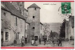 CPA 25 QUINGEY La Tour C/ SAINT VIT - Altri Comuni