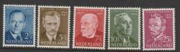 Nederland 1954 NVPH Nr. 641-645 MLH - 1949-1980 (Juliana)