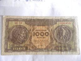 GRECE-BILLET DE 1000 DRACHMES-1950 - Grèce