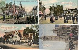 BRUXELLES - EXPOSITION - 1910 - Pavillon Du Brésil - Vue Sur Aft-Dusserdolf - Pavillon Néerlandais  (118143) - Universal Exhibitions