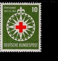 Bund 164 Henri Dunant  Neuf Geprüft MNH  Postfrisch ** (GP1) - [7] Federal Republic