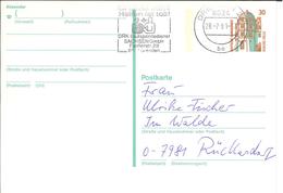 Ganzsache Spende Blut - Helfen Ist Toll - DRK Blutspendedienst Sachsen Dresden 8024 1991 - Schloss Celle - Medicine