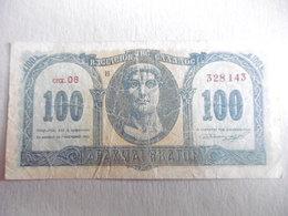 GRECE-BILLET DE 100 DRACHMES-1953 - Grèce