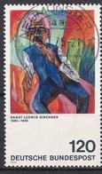 """Bund 1974 - Mi.Nr. 823 II - Gestempelt Used - Plattenfehler """" KurzesT """" - Errori Di Stampa"""