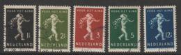Nederland 1939  NVPH 327-331   Used - Oblitérés