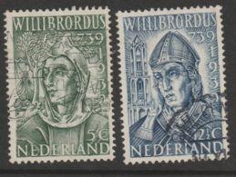 Nederland 1939  NVPH 323+324   Used - Oblitérés