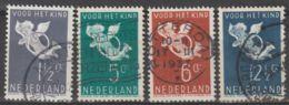 Nederland 1936 NVPH 289-292   Used - Usados