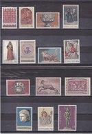 CHYPRE 1971 Série Courante  Yvert 337-350 NEUF** MNH Cote : 30 Euros - Chypre (République)