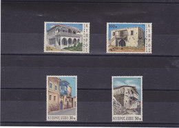 CHYPRE 1973 ARCHITECTURE Yvert 384-387 NEUF** MNH - Cyprus (Republic)