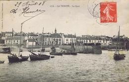 56 - La Trinité-sur-Mer (Morbihan) - Le Quai - La Trinite Sur Mer