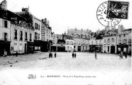 MONTARGIS ,PLACE DE LA REPUBLIQUE ,ENGRAIS CHIMIQUES,COMMERCES,PERSONNAGES  REF 63033 - Montargis