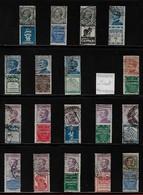 18 Francobolli Pubblicitari Perfetti - 1900-44 Vittorio Emanuele III