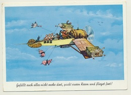 AK  Humor Plane Flugzeug Airplane - Humor