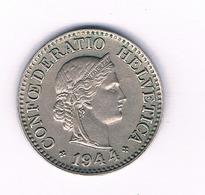 10 RAPPEN 1944 ZWITSERLAND /1665/ - Zwitserland