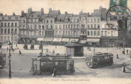 Lille (59) - Place De La Gare - Tramway - Lille
