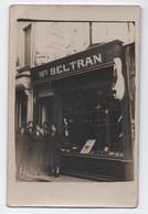 CPA PHOTO COMMERCE SANDALES MR BELTRAN, NARBONNE? Chaussures, Magasin, Cf Autre Vente 2/2, Fabrique, AUDE - Magasins