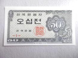 COREE-BILLET DE 50 JEON-1962 - Corée Du Nord