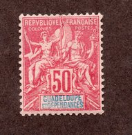 Guadeloupe N°37 N* TB Cote 40 Euros !!! - Usados