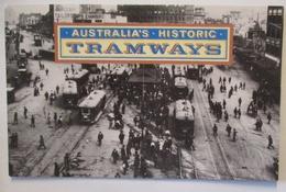 Australien Strassenbahnen Tramways, Postfrischer Satz Im Folder (56100) - Tramways