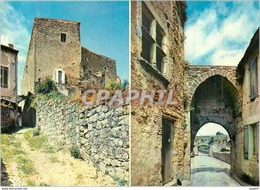 CPM Saint Macaire (Gironde) Cite Medievale Les Remparts Et La Porte Du Thuron - Francia