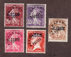 Algérie Préo N°1,5 à 8 N** LUXE Cote 49 Euros !!! - Algeria (1924-1962)