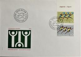 1971 FDC Turner & Turnerinnen MiNr: 940-941 - FDC