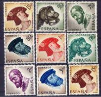 ESPAGNE - 913/920* - CHARLES QUINT - 1931-Aujourd'hui: II. République - ....Juan Carlos I