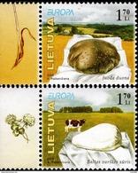 Lithuania - 2005 - Europa CEPT - Gastronomy - Mint Stamp Set - Litauen