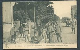 N°5 - Heureux Prisonniers Boches En Alsace    - Maca0697 - Guerre 1914-18