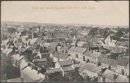 Bird's Eye View Of Dunstable, Bedfordshire, 1918 - J Field Postcard - Angleterre
