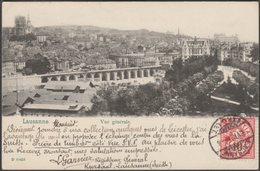Vue Générale, Lausanne, 1904 - Lautz & Balzar CPA - VD Vaud
