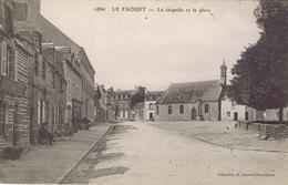56 - Le Faouët (Morbihan) - La Chapelle Et La Place - Faouët