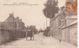 22--LANGOAT--ENTREE DU BOURG--VOIR SCANNER - Autres Communes