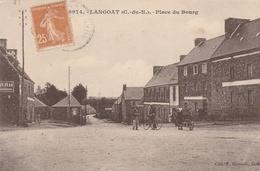 22--LANGOAT--PLACE DU BOURG--CEPIA--VOIR SCANNER - Frankreich