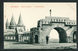 HONGRIE - BUDAPEST - Halasz Bastya - Fischerbastei - Hongrie