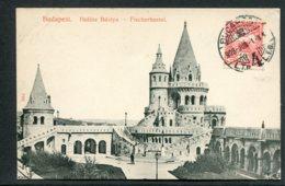HONGRIE - BUDAPEST - Halasz Bastya Fischerbastei - Hongrie