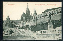 HONGRIE - BUDAPEST - Koronazalepcso - Kronungsstiege - Hongrie