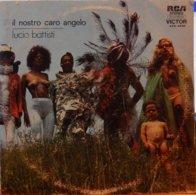 """Lucio Battisti 33t. LP ARGENTINE """"il Nostro Caro Angelo"""" - Vinyl Records"""