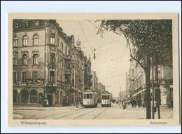 Y12553/ Wilhelmshaven Gökerstraße Straßenbahn AK - Germania