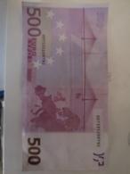 Billet De 500 Euros Allemagne - EURO