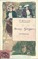 Jeunes Femmes En Vélo , 1907 - Illustrateurs & Photographes
