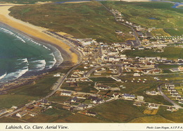 Lahinch Aerial View Size 10 By 15 Cms - Clare