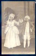 Cpa Carte Photo Pièce De Théâtre Photographe B. Mellet Le Havre Du 76  -- (2)  DEC19-43 - Le Havre